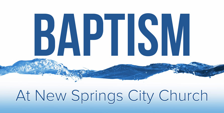 Loughborough Church New Springs - Baptism