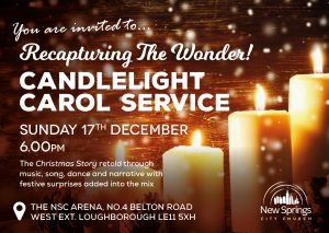 Loughborough Church New Springs Carol Service 2017