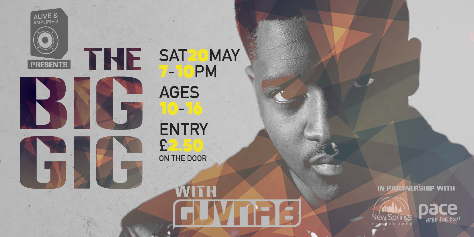Guvna B - The Big Gig Christian Youth Event