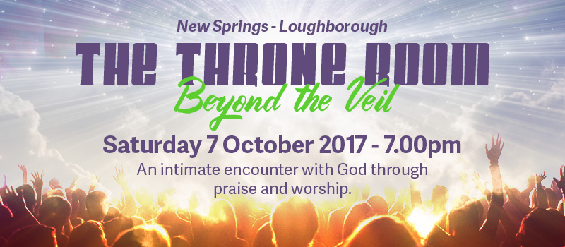 New Springs City Church Loughborough - Throne Room