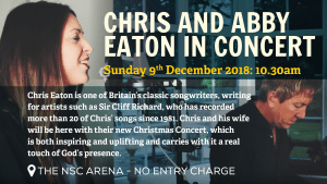 New Springs City Church - Loughborough - Christmas Events - Chris and Abby Eaton in Concert