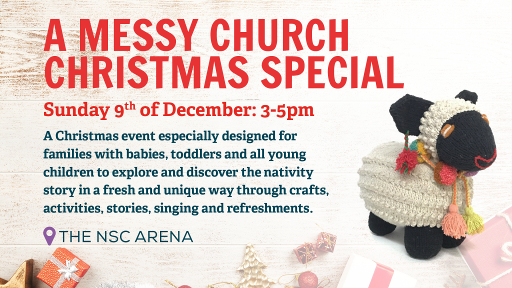 New Springs City Church - Loughborough - Christmas Events - Messy Church Christmas Special