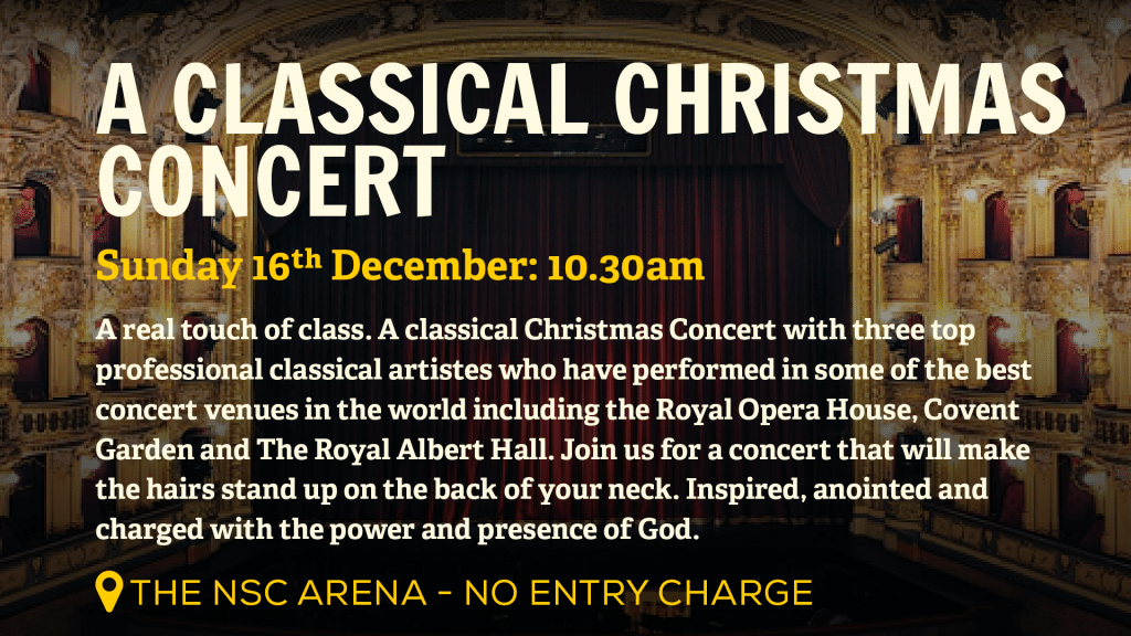 New Springs City Church - Loughborough - Christmas Events - Classic Christmas Concert