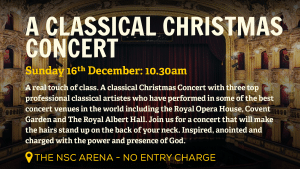 New Springs City Church - Loughborough - Christmas Events - Classic Christmas Concert