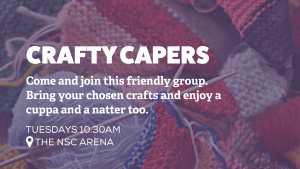 Crafty Capers @ The NSC Arena